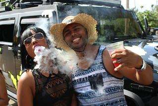 Vaping in Puerto Rico / E-Cig Street Block Party
