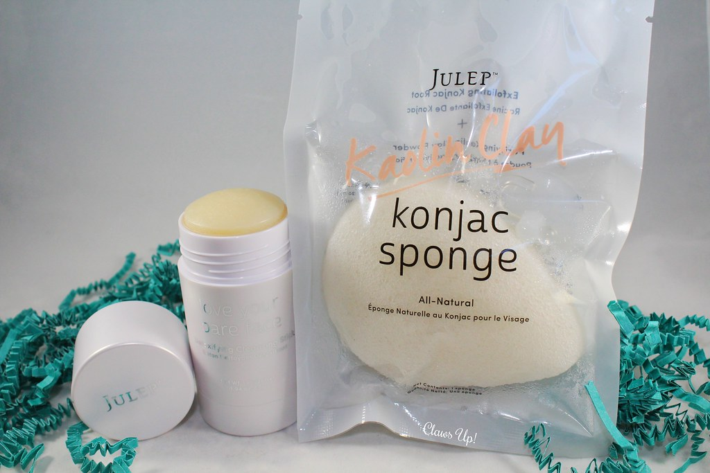 Julelp Konjac Sponge and Julep Love Your Face Detoxifying Cleansing Stick