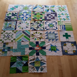I've changed my mind. ...again from what I had planned the last time I got those blocks out. ... so it means I need another 3 blocks to be able to finish this top. ... and I won't use sashimi after all. .. #ufo #lazybums #sewmystash #beeblock you might re