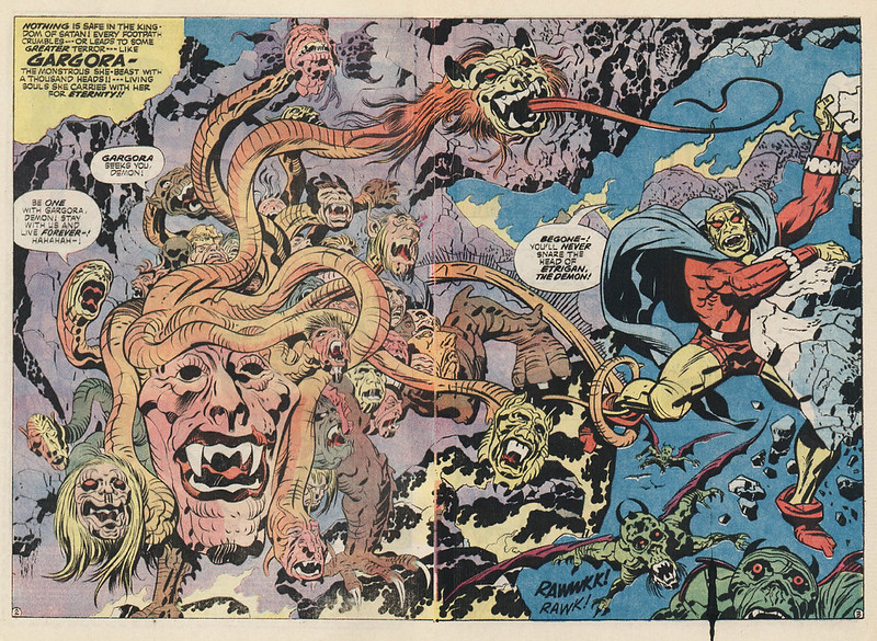 "Jack Kirby - Interior art from ""The Demon"" Issue 14, November 1973"