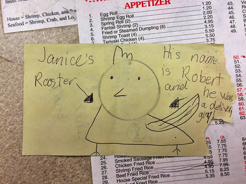 Janice's Rooster (April 11 2015)
