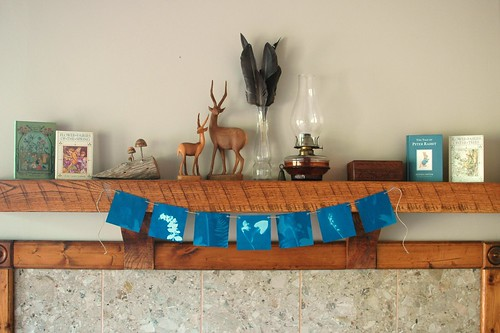 Sunprint Nature Garland | Freshly Planted