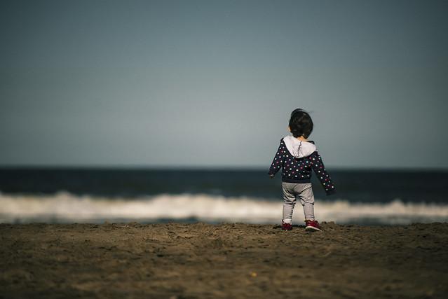 Clara va a la playa