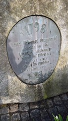 Photo of Edward FitzGerald grey plaque