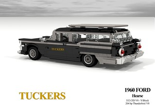 Ford 1960 Galaxie Hearse (Tuckers Funeral Service - Geelong, Australia)