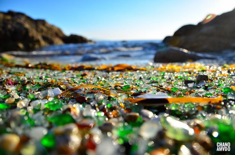 Playa de los Cristales, Laxe