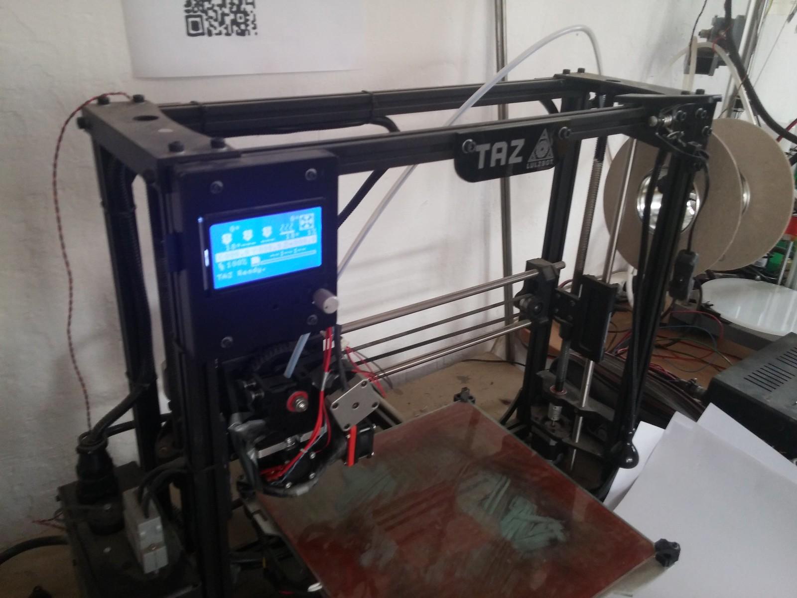 3D printeris Nr. 1.