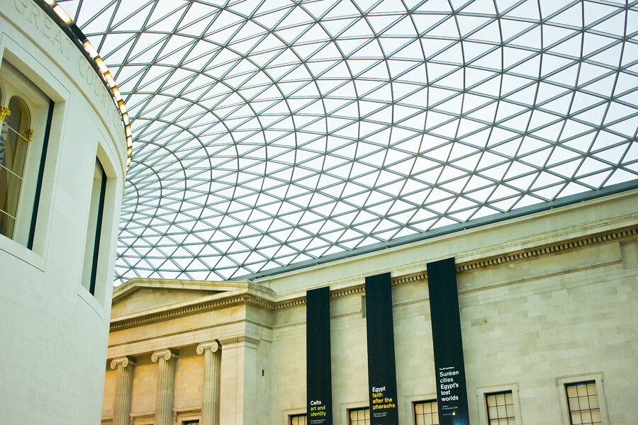 british museum, britishmuseum, the british museum, british museum london, artifacts at british museum, london, museums in london, london museums, things to do in london, architecture, building, roof, british museum roof