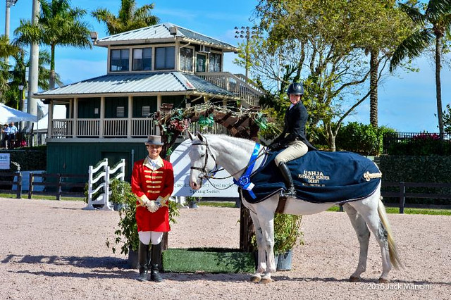 Molly Sewell and MTM Caruso S Win the USHJA Hunter Classic at ESP Spring II