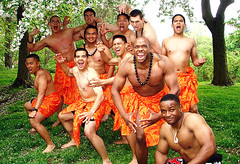 Haka dancers, West Point