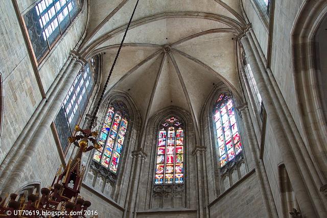 Chor mit Gewölbe