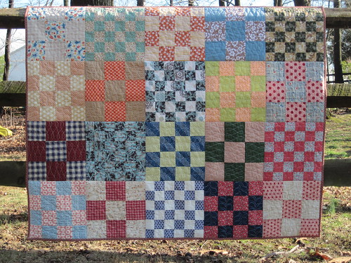 Great Grandmother's Patchwork ~ a Faith Circle quilt