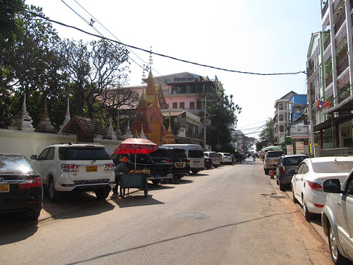 Vientiane: notre rue