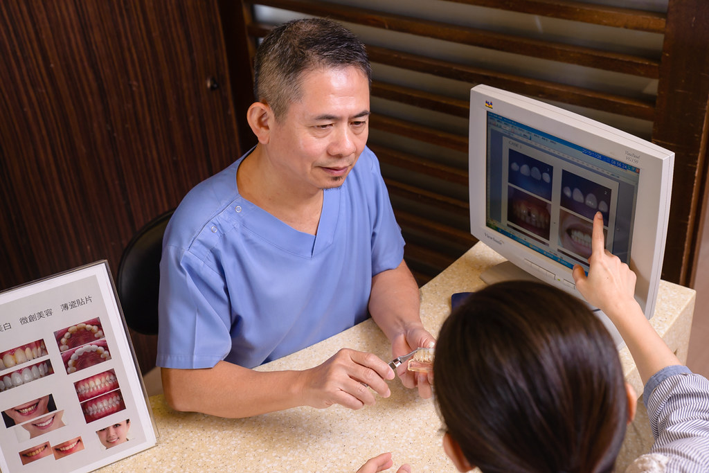 陶瓷貼片打造我的白皙牙齒,就交給台南佳美牙醫塗祥慶醫師吧~ (7)