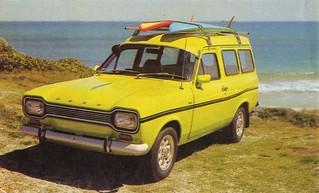 1972 Ford Escort Van (Australia)