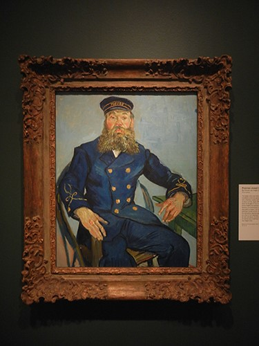 DSCN0943 _ Postman Joseph Roulin, Vincent van Gogh, Looking East, Asian Art Museum