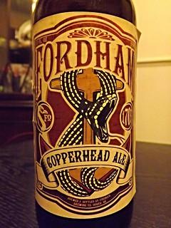 Fordham, Copperhead Ale, USA