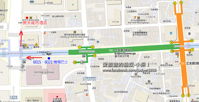 乙支路3街地圖 -1