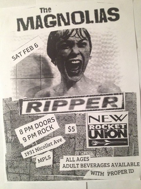 02/06/16 The Magnolias/ Ripper/ New Rocket Union @ The Nicollet, Minneapolis, MN