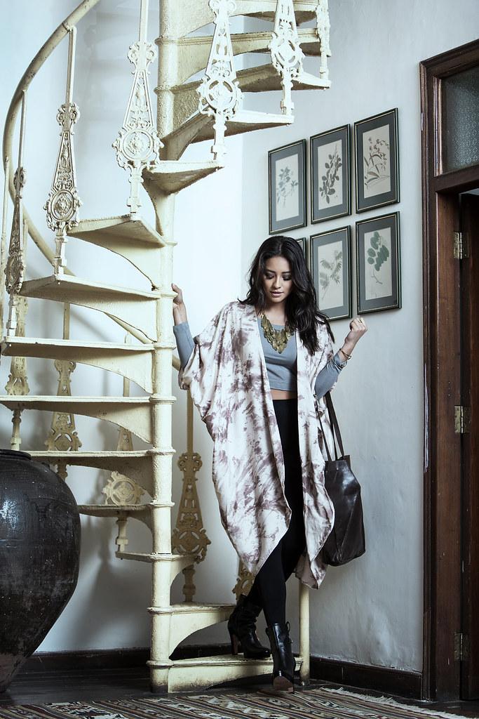 Шей Митчелл — Фотосессия для «Raven + Lily» 2015 – 4
