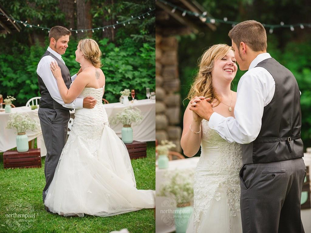 The First Dance - Francois Lake Wedding