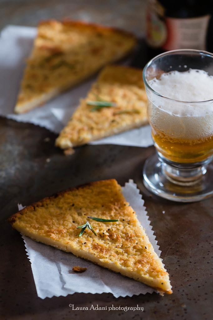 farinata - chickpea tart