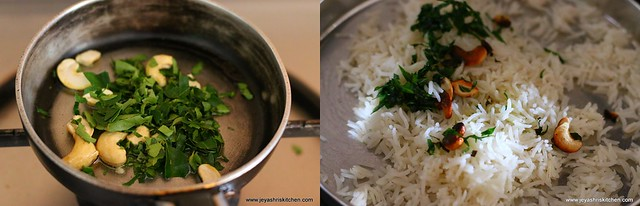 curry leaves pulao 2