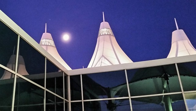 Moon over DIA