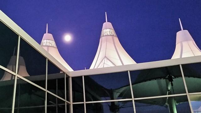 Moon over DIA