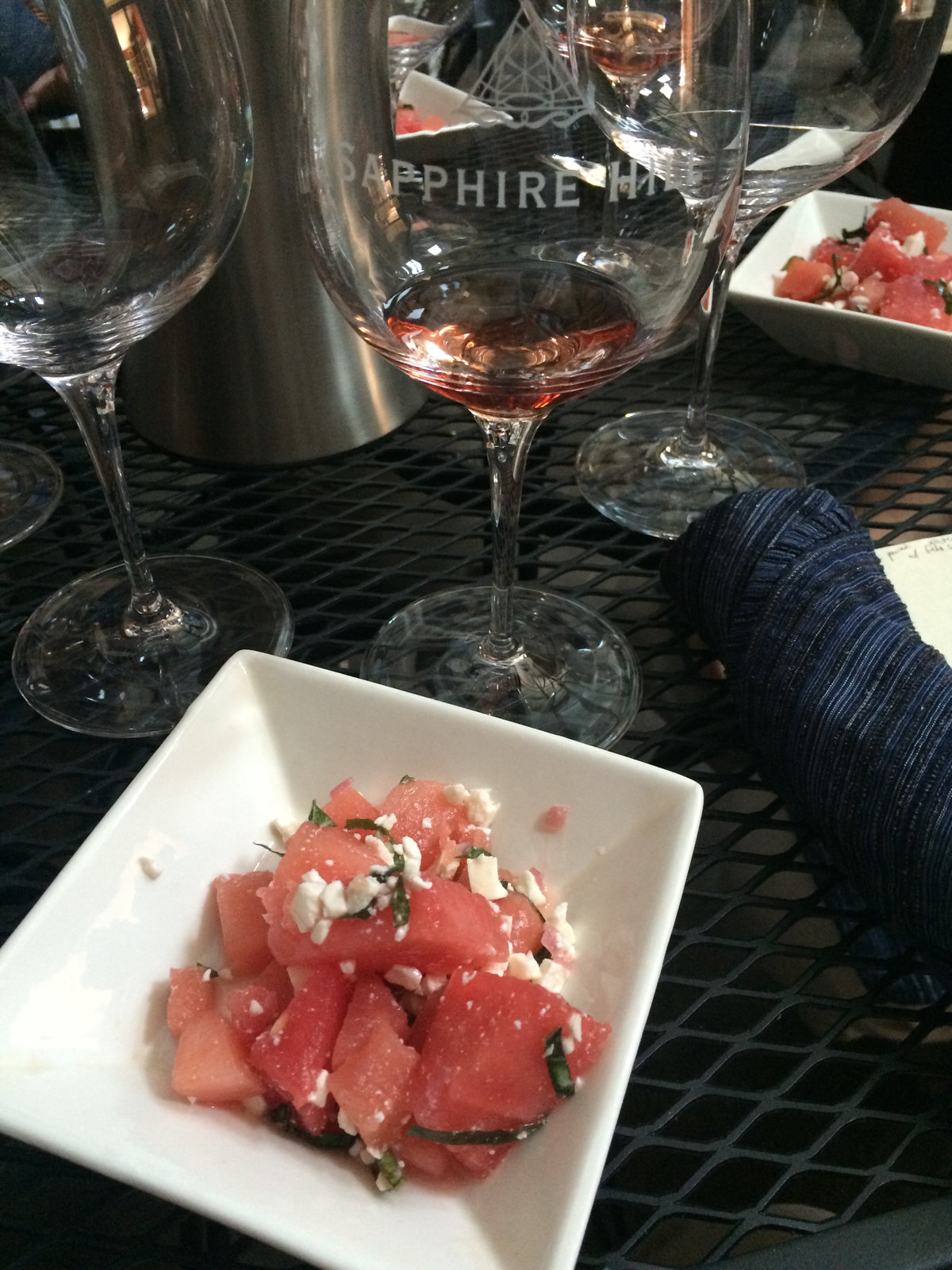Sapphire Hill Food and Wine Pairing Lunch 2