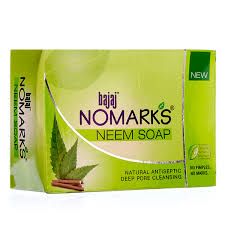 Neem soaps in India - Bajaj Nomarks Neem Soap Price Benefits