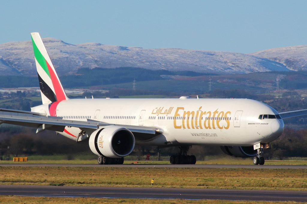 A6-ENA - B77W - Emirates