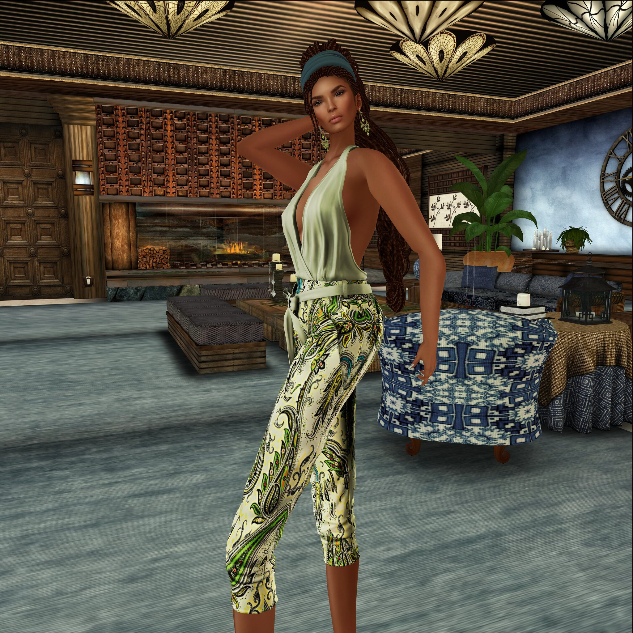 LaVian&CO-By Sam-Essentials Field of Dreams Jumpsuit@ Steals and Deals