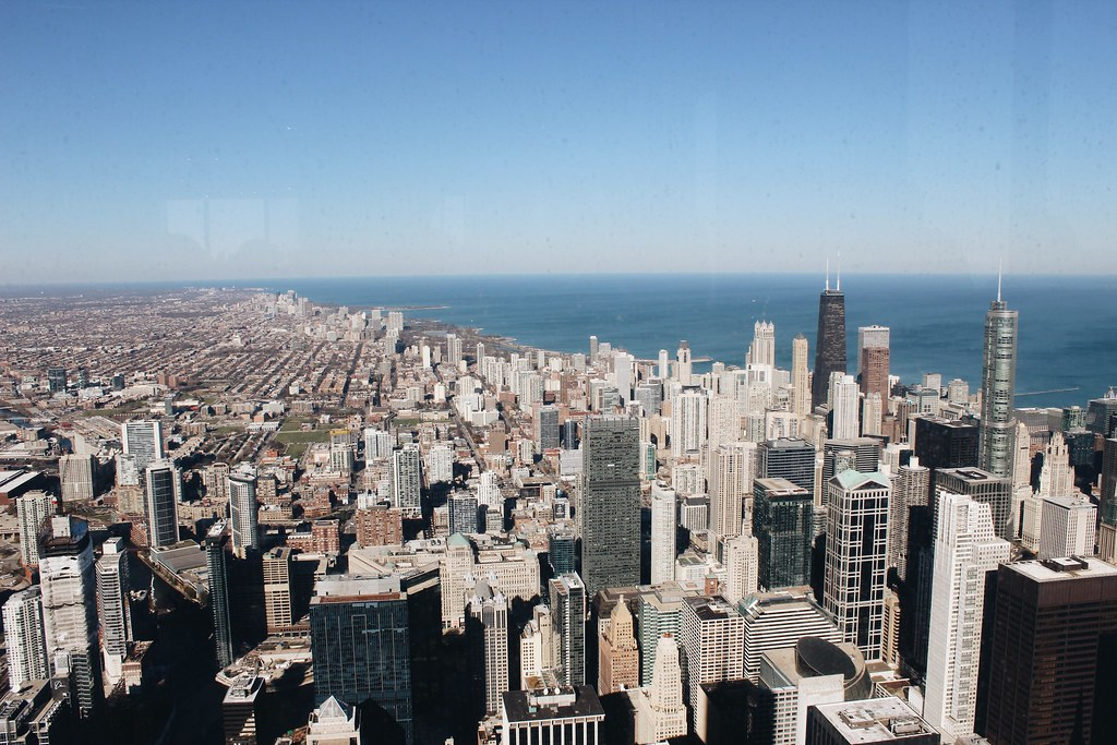Chicago von oben