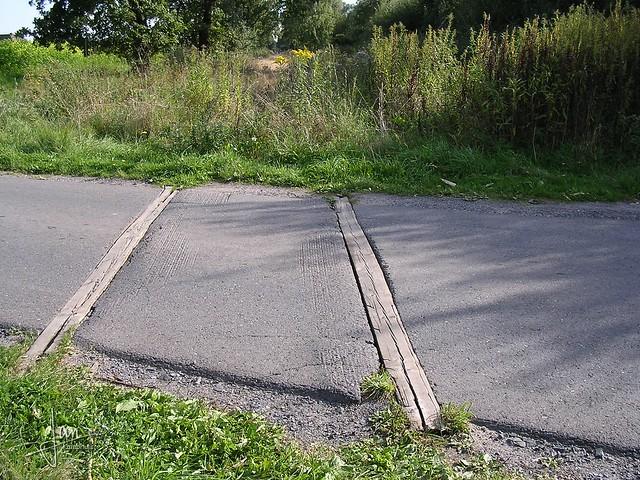 Alstätte 2003 - voormalige spoorlijn