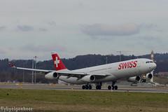 HB-JMK Airbus A340-313 A343 > SWR