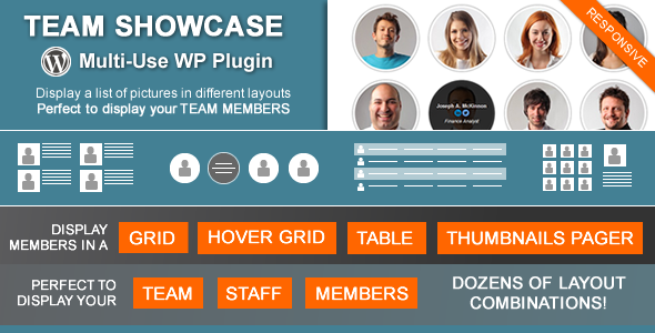 Team Showcase v1.6.7 - Wordpress Plugin