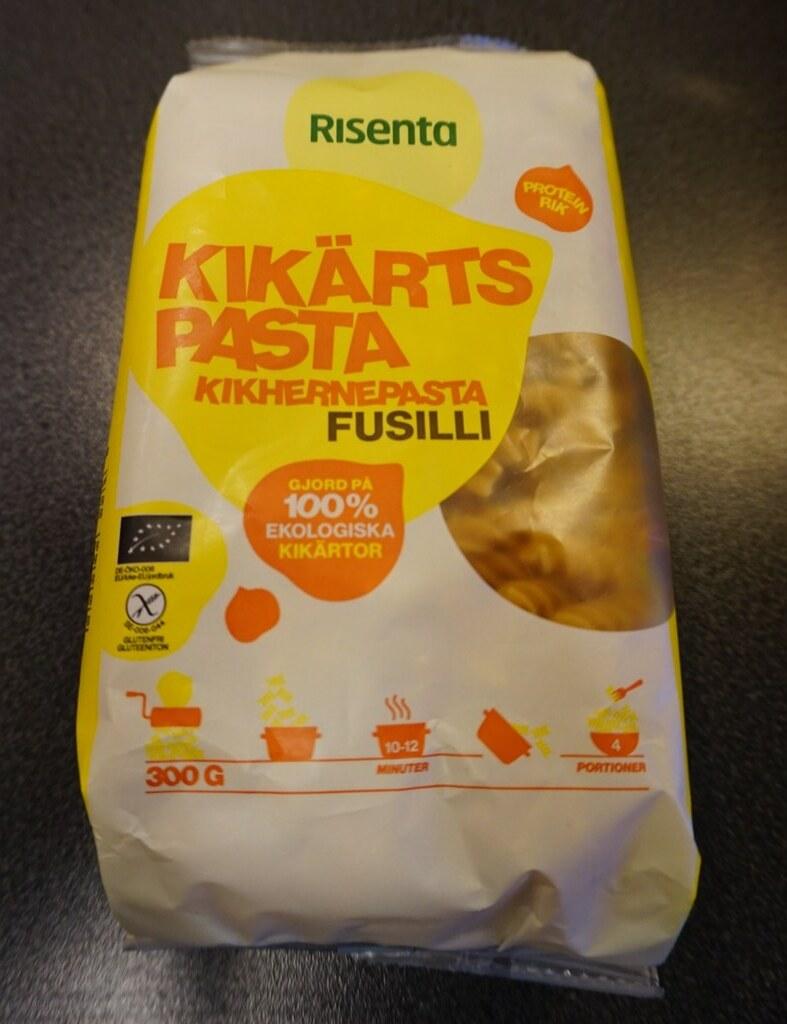Kikärtspasta Fusilli från Risenta