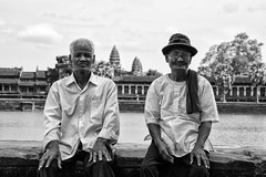 Angkor in Black and White - 2015