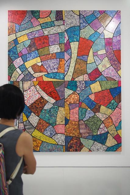 Xue Song 薛松 - The Mountain Echoes, SHANGArt Gallery.  Art Day Out 2016, Gillman Barracks, Alexandra, Singapore