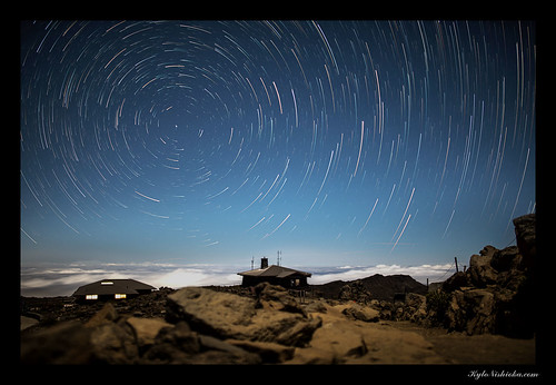 Haleakala star trails | by madmarv00