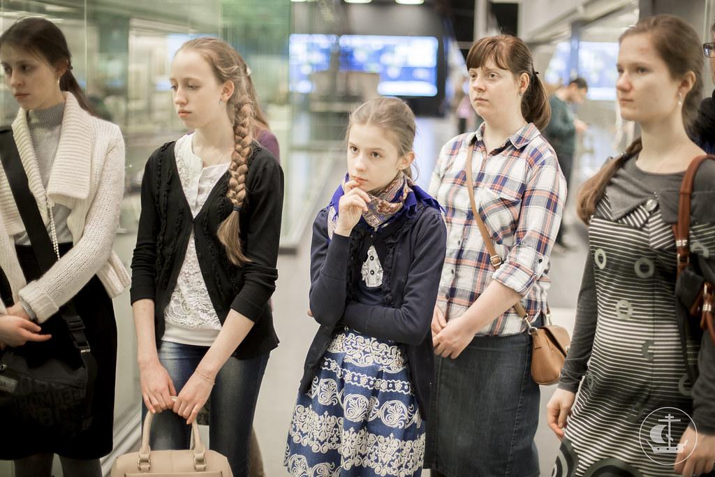 31 марта 2016, Экскурсия в Центральный военно-морской музей / 31 March 2016, Excursion to the Central Naval Museum in St. Petersburg