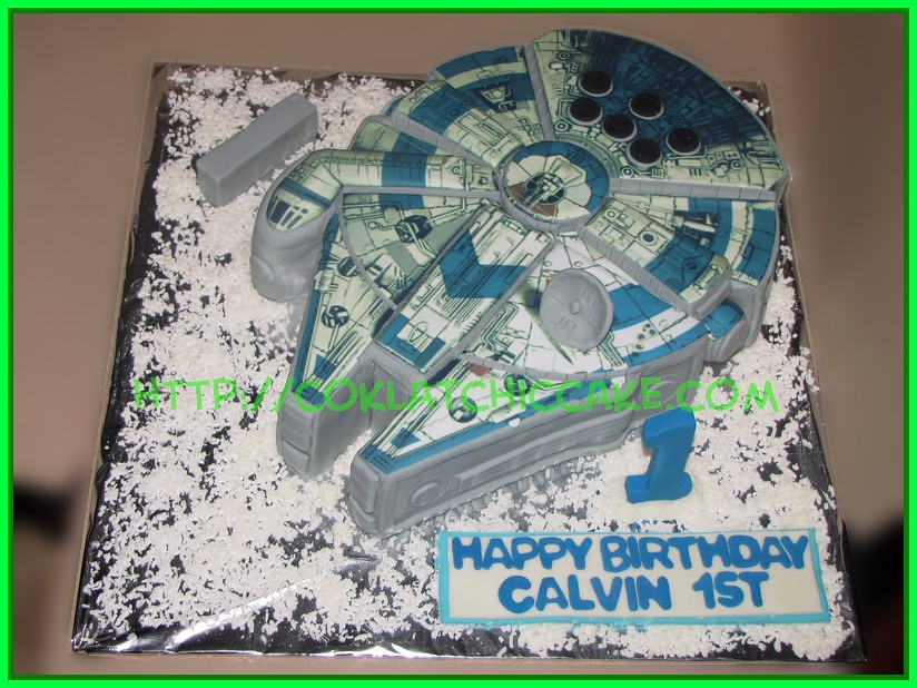 cake mileniun falcon