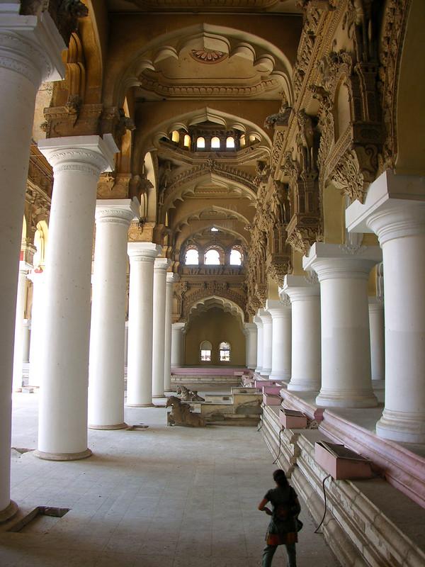 Patio de Palacio de Thirumalai Nayak