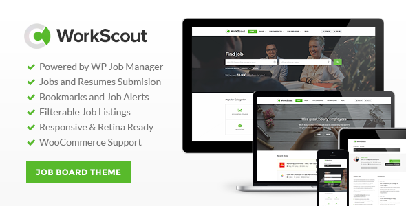 ThemeForest WorkScout v1.0.7 – Job Board WordPress Theme