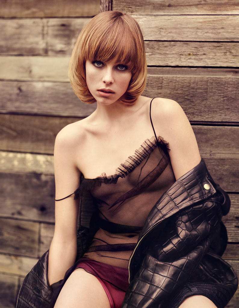 Эди Кэмпбелл — Фотосессия для «Vogue» DE 2016 – 11