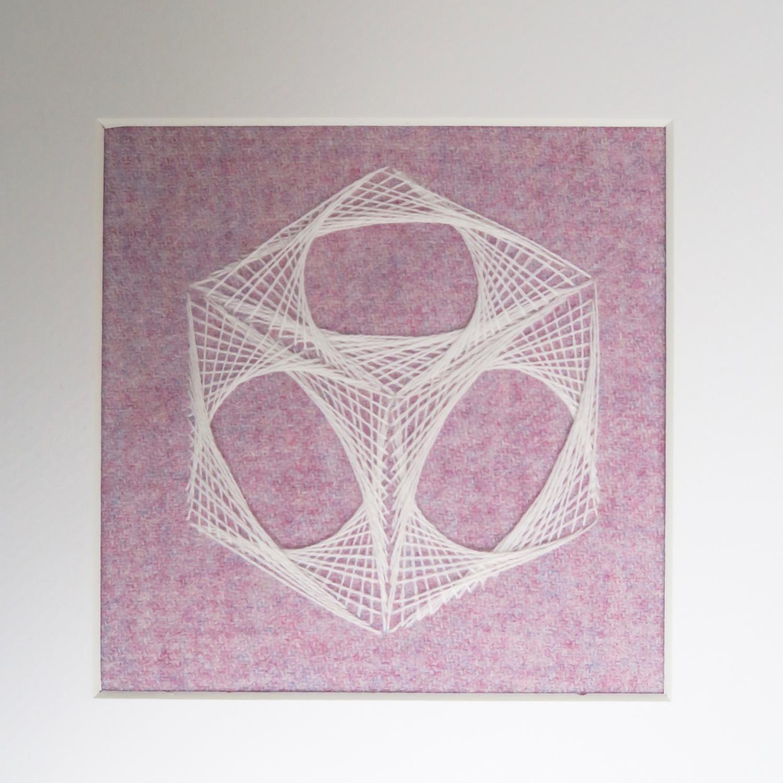 cube string art