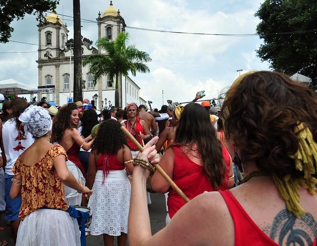 Maracatu Ventos de Ouro na Festa do Bonfim