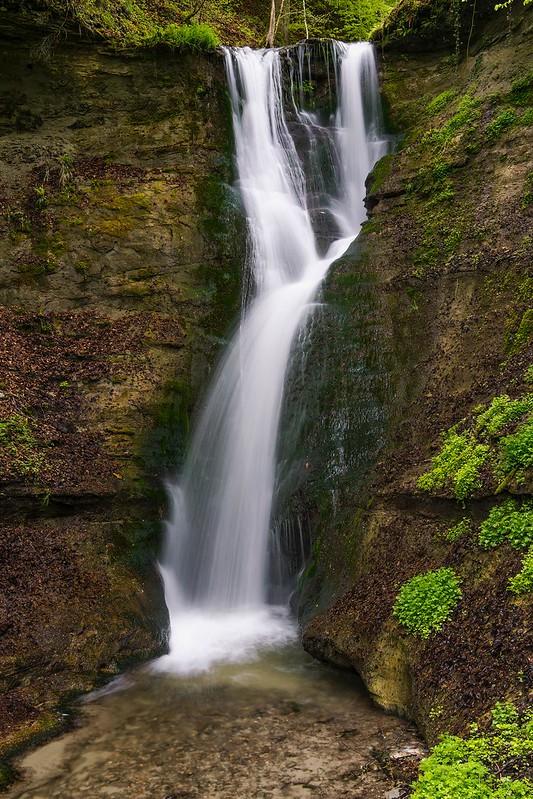 Spring at the waterfall 2 - Mutzbachfall