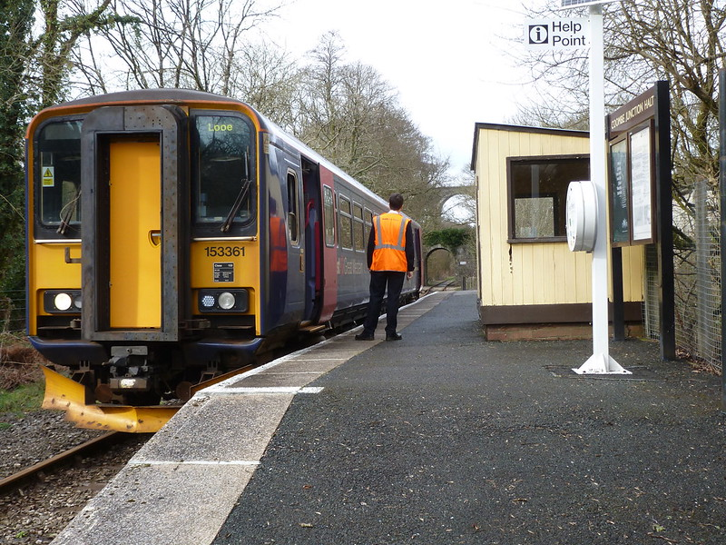 No passengers again at Coombe Junction